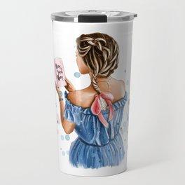 Girl home Travel Mug