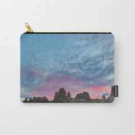 Pastel Rainbow Sunset : Tronna Pinnacles Carry-All Pouch