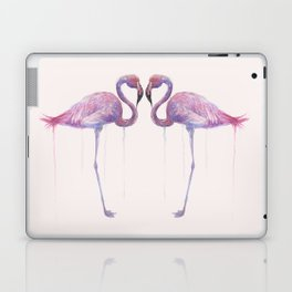"""Watercolor Painting of Picture """"Flamingo"""" Laptop & iPad Skin"""