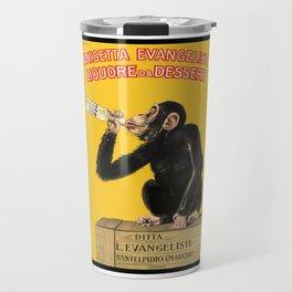 1925 Anisetta Evangelista Italian Advertising Poster Travel Mug
