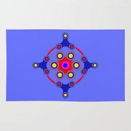 Fidget Spinner Design version 4 Rug