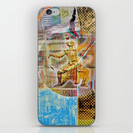 Collateral^2ndHand°FloodNewz iPhone Skin