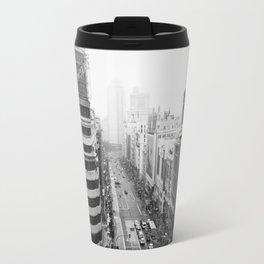 Gran Via in Madrid Travel Mug