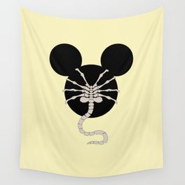 > facehugger Wall Tapestry
