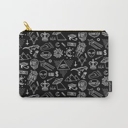Conspiracy pattern (Censored version) Carry-All Pouch