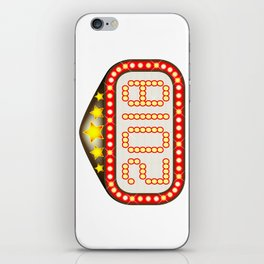 2018 Movie Theatre Marquee iPhone Skin