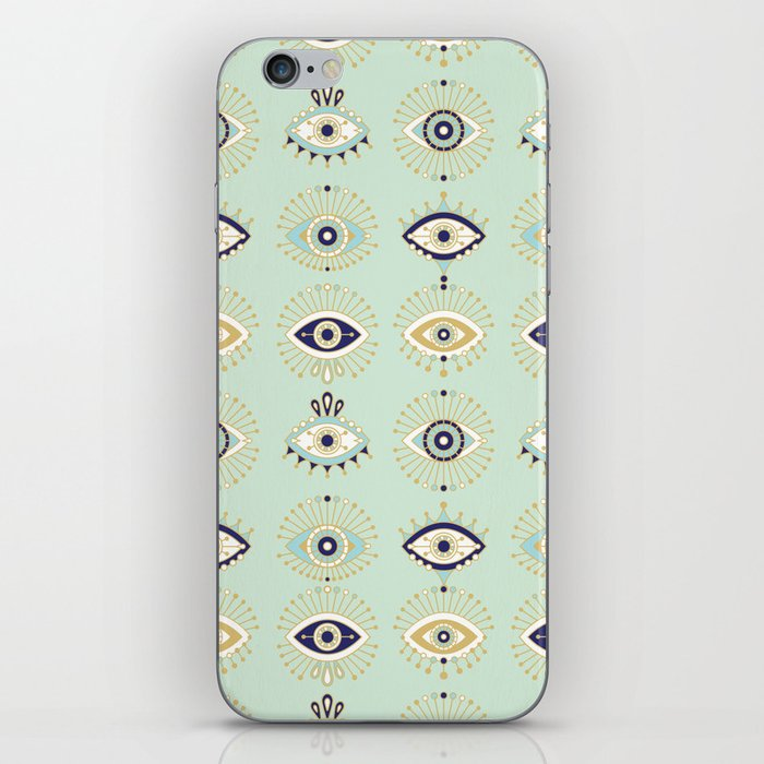 Evil Eye Collection iPhone Skin