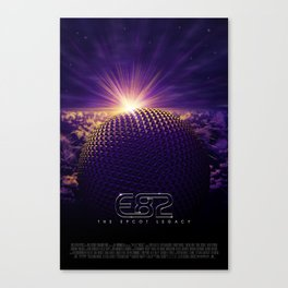 """The E82 Project — """"Movie Poster"""" Canvas Print"""