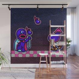 Eggplant Man Wall Mural
