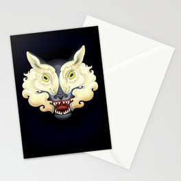 Wolf Lamb Stationery Cards