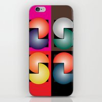 cinema iPhone & iPod Skins featuring Cinema by Sants Armand