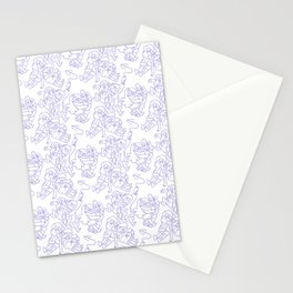 Dipper and Mabel Pattern Stationery Cards