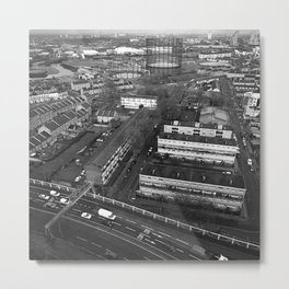 View Across East London #2 Metal Print