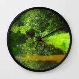 Crow's Nest Preserve, Pennsylvania (2) Wall Clock