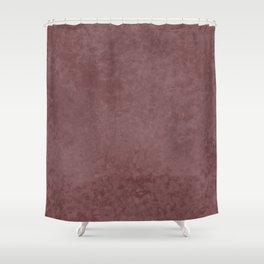 Pantone Red Pear, Liquid Hues, Abstract Fluid Art Design Shower Curtain