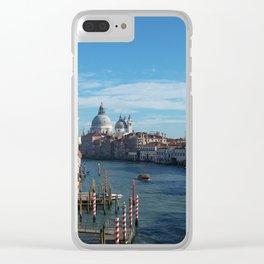 Beautiful Venice Clear iPhone Case