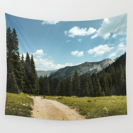 Mountain Roads Wall Tapestry