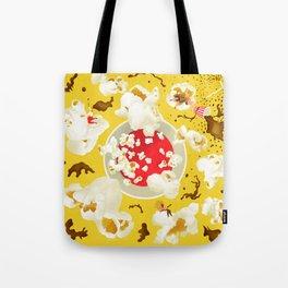 Popcorn princesses Tote Bag
