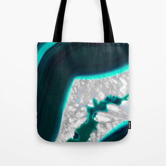 Fluo Agate Tote Bag