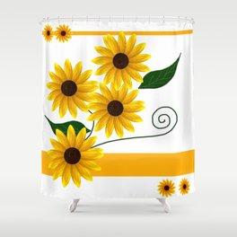 Sunflowers2 Shower Curtain