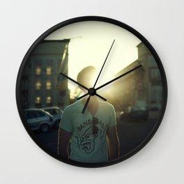 Flarelove (dust & sunshine) Wall Clock