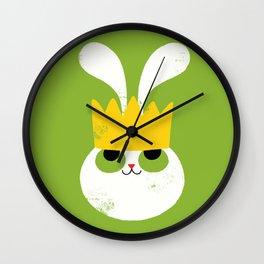 Rabbit King Wall Clock