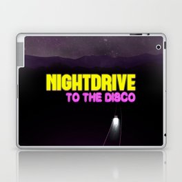 Nightdrive to the disco Laptop & iPad Skin