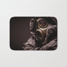 gas mask Bath Mat