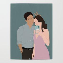 Jae and Melanie II Poster