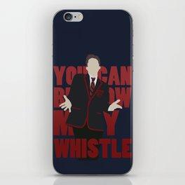 Hunter Clarington - Whistle - Nolan Gerard Funk - Glee - Minimalist design iPhone Skin