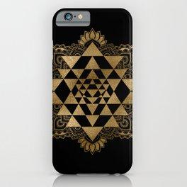 Sri Yantra  / Sri Chakra iPhone Case