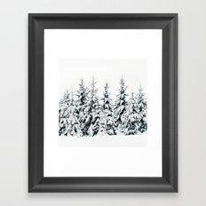 Snow Porn Framed Art Print