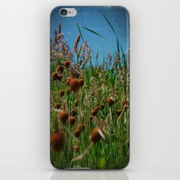 Lying in the Grass iPhone Skin