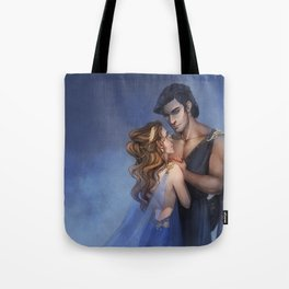 Hades and Persephone Tote Bag