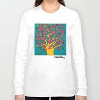 keith haring Long Sleeve T-shirts featuring Keith Haring: The Tree of Monkeys by cvrcak