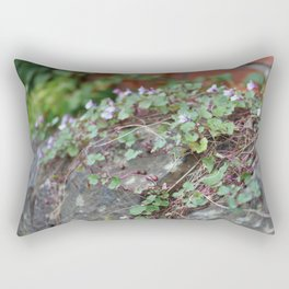Creeping Flowers Rectangular Pillow