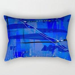 Blue mix Rectangular Pillow
