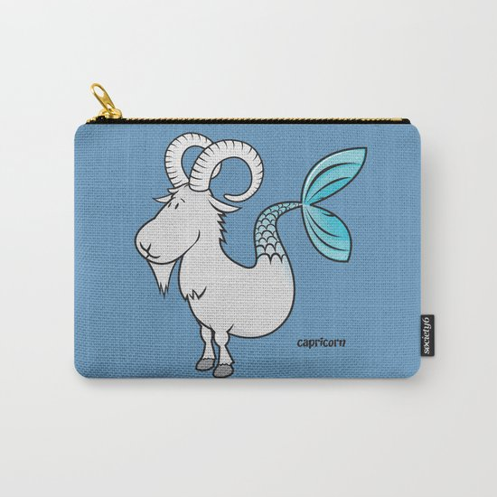 funny zodiac/capricorn Carry-All Pouch