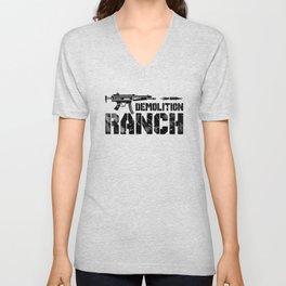 Demolition Ranch Unisex V-Neck