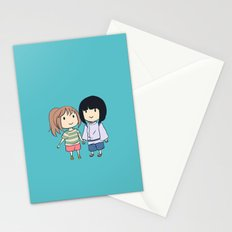Chihiro & Haku Stationery Cards
