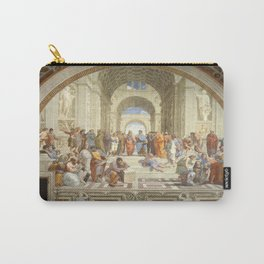 Raphael's The School of Athens Carry-All Pouch