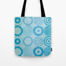 Scuba Blue Aquamarine Tote Bag