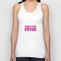 mean girls Tank Tops featuring Mean Girls by Maria Giorgi