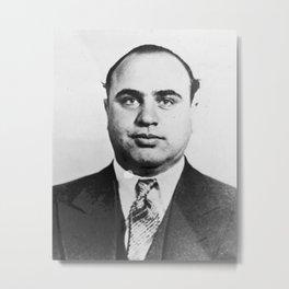 Al Capone Mugshot Metal Print