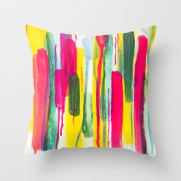 Zero Enthusiasm Throw Pillow