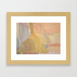 Instrumental Shapes Framed Art Print