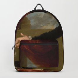 Vintage George Washington Portrait Painting 2 Backpack