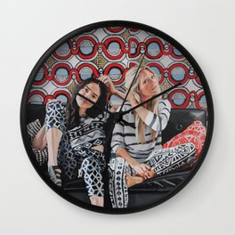 Brynn and Kristin Wall Clock