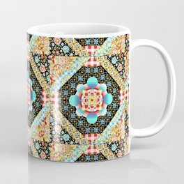 Bricolage Patchwork Quilt (printed) Coffee Mug