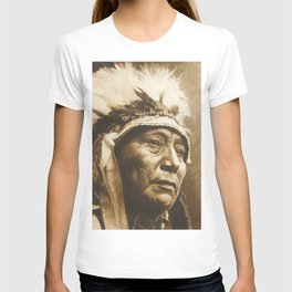 Chief Running Antelope - Native American Sioux Leader T-shirt